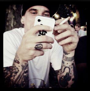 Smoker N° 2   © Eve Lingen #tattoo