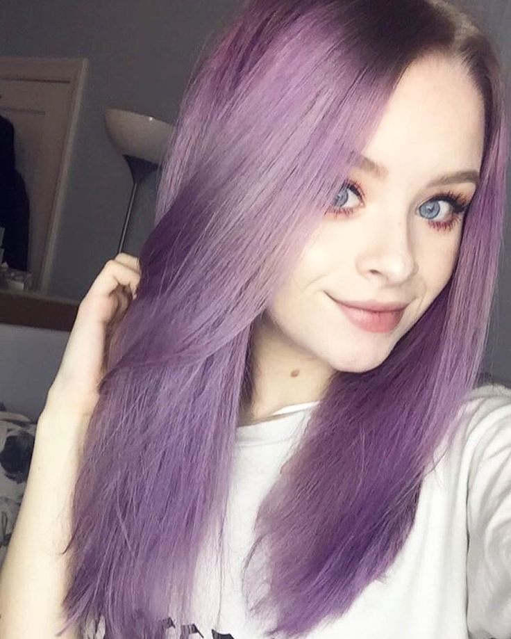 "13.7k Likes, 388 Comments - Sophie (@sophdoesnails) on Instagram: ""soooo uh my hair came out brighter than I intended Oops YAY FOR PURPLE HAIR! I used…"""