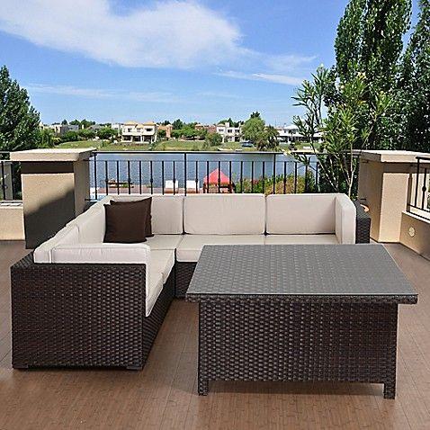Piece Outdoor Patio Conversation Set, Atlantic Bellagio Patio Furniture
