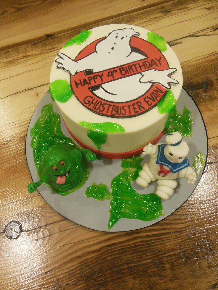 Ghostbusters. View more cool fan inspired cakes at Suburban Fandom's Fan Cakes board http://pinterest.com/SuburbanFandom/fan-cakes/