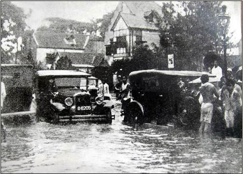 jakarta, banjir th akhir 1930 an