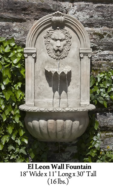 17 Best Images About Stone Wall Fountains On Pinterest