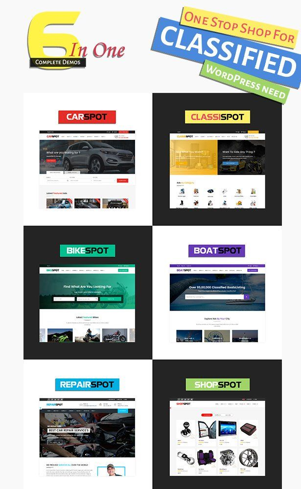Buy 6 Ready Made Website Designs With Carspot Auto Dealer Wordpress Theme And Start Your Own Automotive Dea Business Wordpress Themes Car Dealer Car Dealership