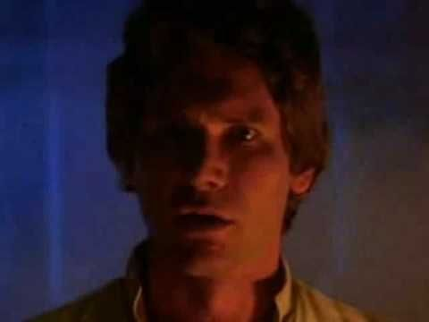 'I Know', The Empire Strikes Back via manarchy, youtube: Han Solo to Leia before he gets frozen. Epic.  #I_Know #Star_Wars #The_Empire_Strikes_Back #youtube
