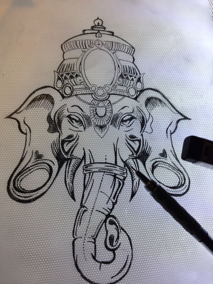 rons ganesh sketch i drew up tattoo ideas pinterest ganesh sketches and tattoo. Black Bedroom Furniture Sets. Home Design Ideas
