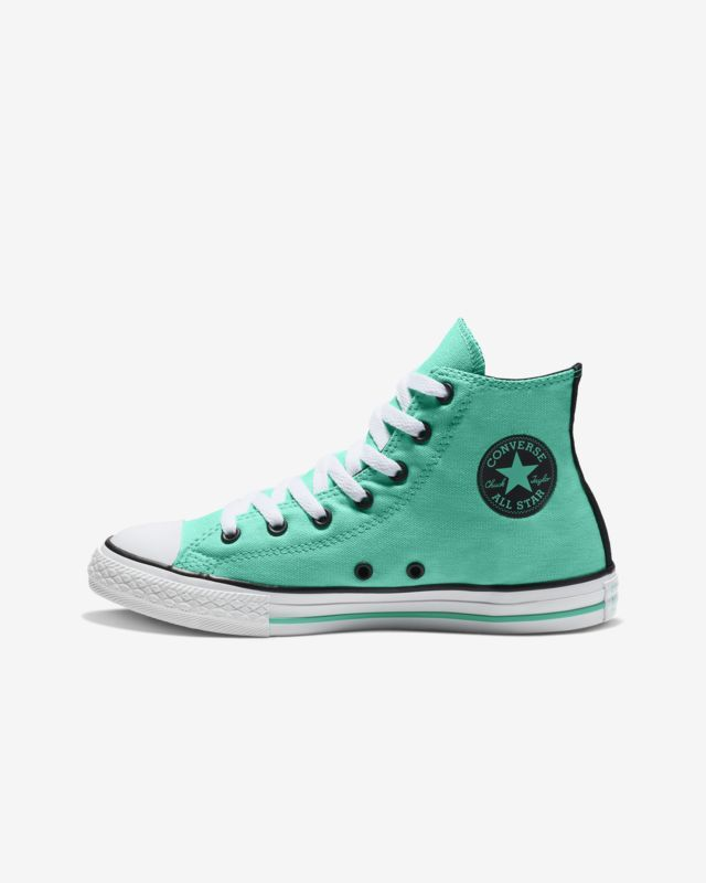 cdd2ab375f3 Converse Chuck Taylor All Star Seasonal Color High Top Girls  Shoe ...