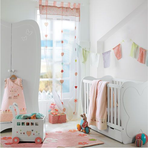 38 best inspiration chambre b b images on pinterest baby room nursery ide - Ambiance chambre bebe fille ...