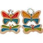 Greek Ceramic Art - Butterflies