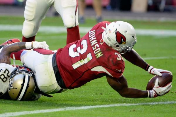 Arizona Cardinals running back David Johnson took to social media to reveal the latest step in his recovery from a dislocated wrist.