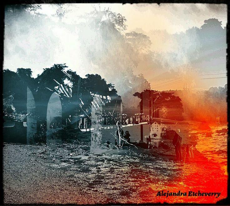 Historias escondidas - Fotografía intervenida - San Luis, Argentina - Autora: Alejandra Etcheverry