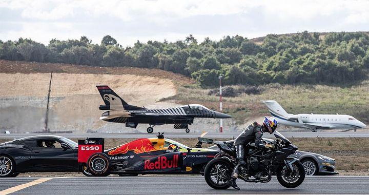 Super Car Vs Super Bike Vs F1 Car Vs Private Jet Vs Fighter Jet