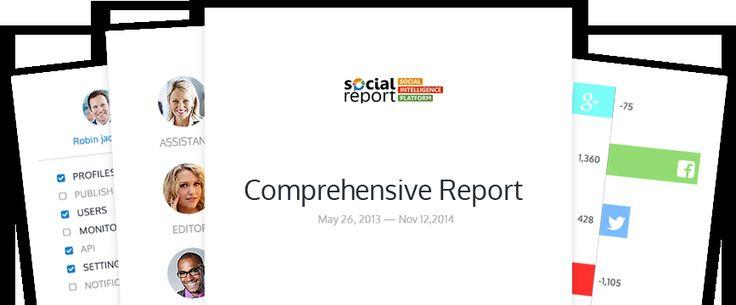 Custom Social Media Reports https://www.youtube.com/watch?v=i3yfC-f1Ipc