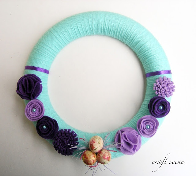 easter wreath #10