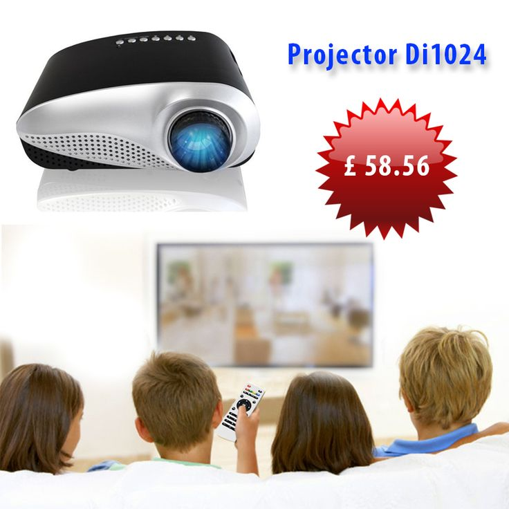 When you want to create a movie theater-like atmosphere in your own home, even the biggest TVs won't make the cut, so it's best to try a LED projector!  http://turanshop.co.uk/vordon/51918-projector-di1024-.html?  #homecinema #hometheater #movies #projector #hdmi