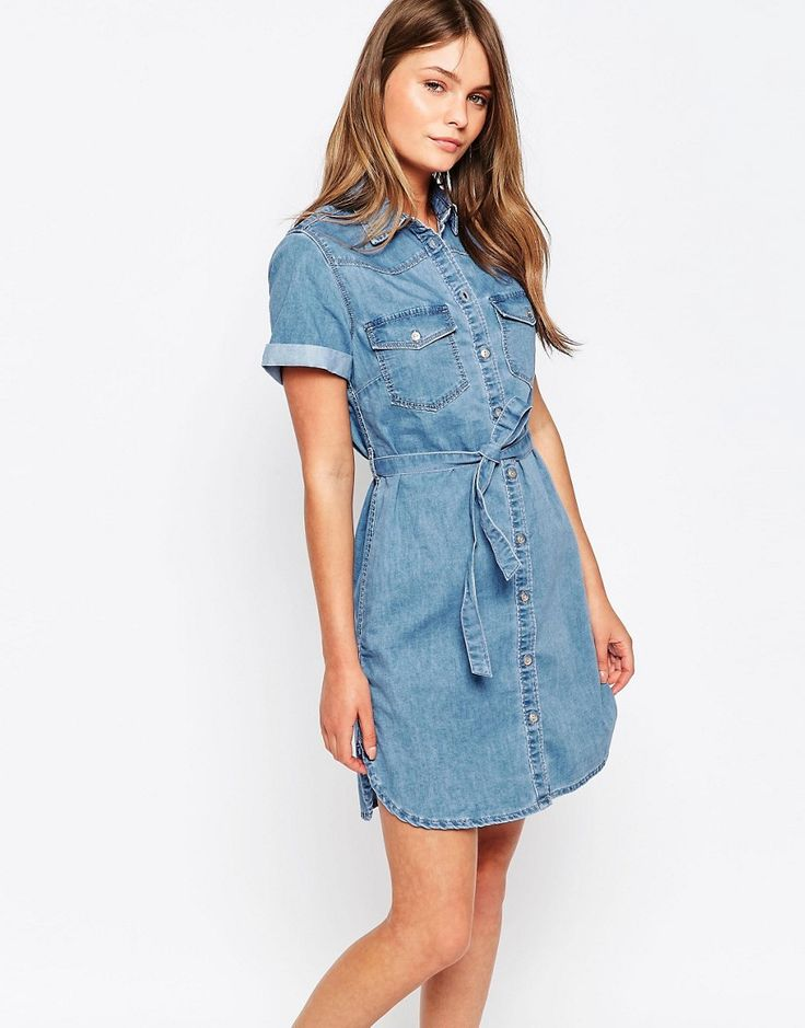 New+Look+Denim+Shirt+Dress