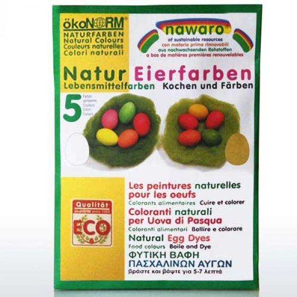 ökoNorm - nawaro Eier-Färbefarben - 5 Farben