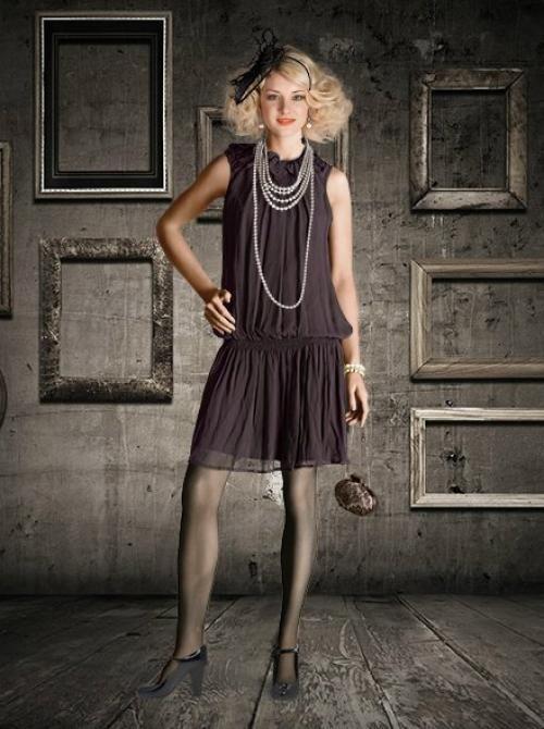 стиль 30-х годов в одежде женщины фото: 23 тыс изображений найдено в Яндекс.Картинках