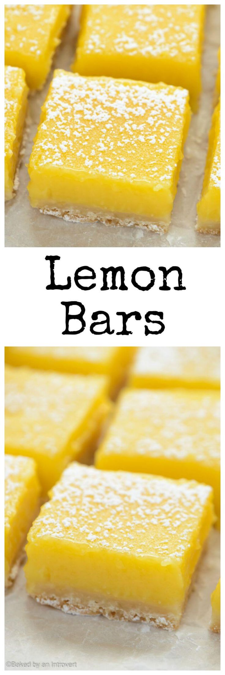 These simple lemon bars are sure to win your heart. They're zesty, sweet, and beyond easy to make!