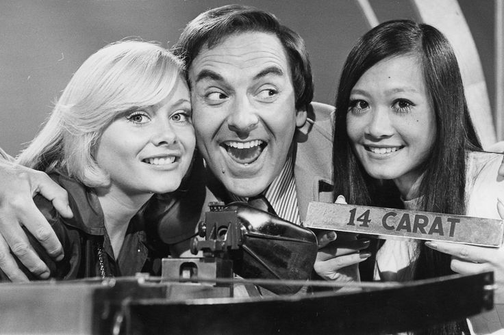 The Golden Shot with Bob Monkhouse and who could forget the beautiful Anne Aston.