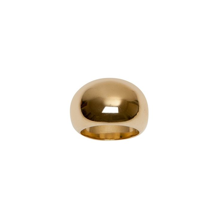 The perfect everyday ring, the Cylinder Ring is as comfortable as it is stylish. Wear this layered with Cylinder Cuffs for a polished look. // As seen on emma roberts City Year Los Angeles Spring Break - May 6, 2017  Spring '16 Collection  Available in 14K Yellow Gold Plated Brass or Silver Plated Brass with Rhodium Finish  .