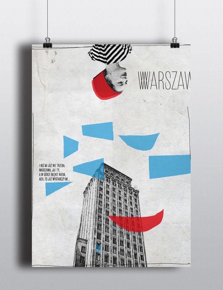 """""""Warszawa"""" by Magda Pilaczyńska on wall-being"""