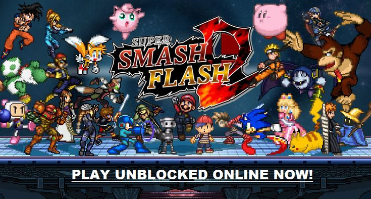 Play super smash bros 2 flash and all your other favorite