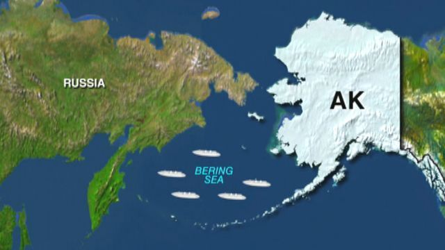 Five Chinese navy ships that were operating near Alaska had reportedly come within 12 nautical miles of the American coast, entering U.S. waters, but complied with international law, according to Pentagon officials.