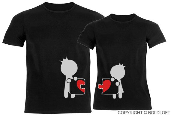 Complete My Heart™ His & Hers Couple Shirts Black,Boyfriend Girlfriend Matching Couple Shirts,Valentine's Day Gifts by BoldLoft on Etsy https://www.etsy.com/listing/209753113/complete-my-heart-his-hers-couple-shirts