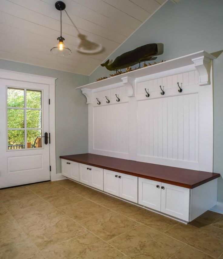 ... Mud Room Of Kousa Creek (Southern Living Plan Provides Many Options For  Keeping Things Organized. Home Built By The Lewes Building Company, Lewes,  DE.