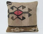 20x20 affiliated kilim pillow accent pillow sham bohemian design sofa pillow sham novelty throw pillow rustic throw pillow rare pillow 26768