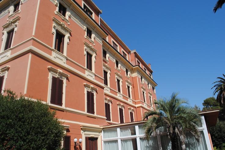 The front-sea side of Miramare's Castiglioncello(ITALY)  www.albergo-miramare.it