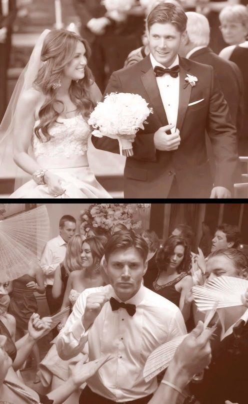 Jensen and Danneel Ackles » The Best Wedding Photos!