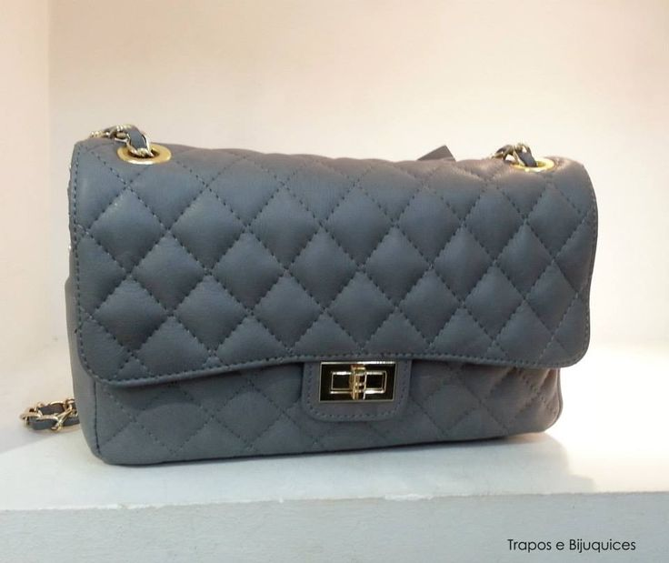 chanel inspired bags. chanel inspired leather bag color: grey price: 80\u20ac medium size to order visit bags i