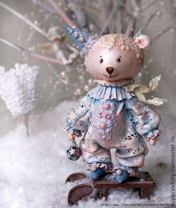 Елочные игрушки от Виктории Морозовой - Красота. Обсуждение на LiveInternet - Российский Сервис Онлайн-Дневников