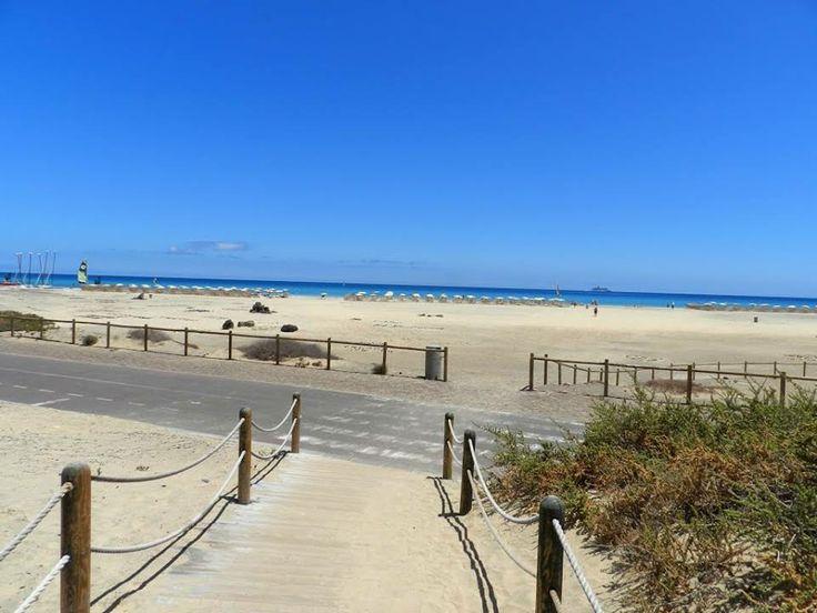 Jandia beach.