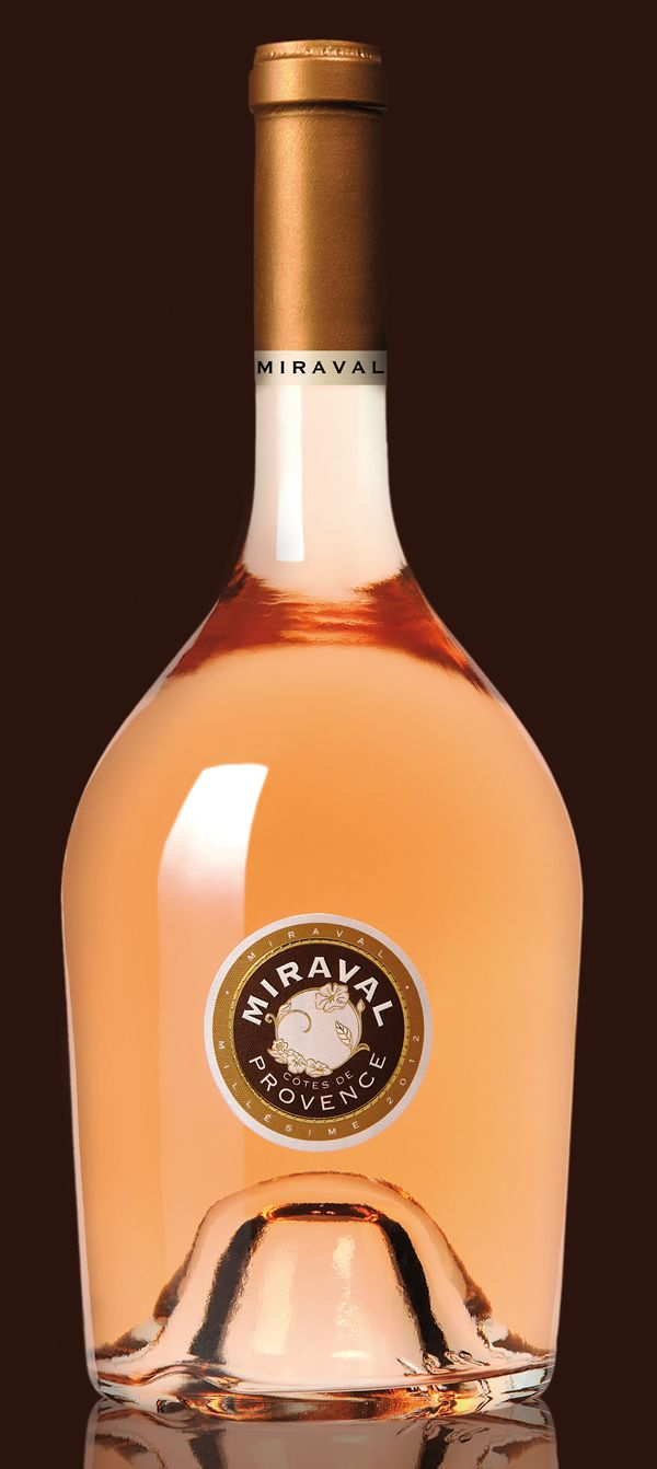 Chateau Miraval - Hollywood's power couple Angelina Jolie and Brad Pitt will be releasing their first bottles of wine in March 2013, produced from their sprawling French estate in the south of France.    According to wine trade publication Decanter, the first bottles to be released out of their Château Miraval vineyards in Correns about 110 km east of Cannes will be Miraval rosés, due out on the market in March.