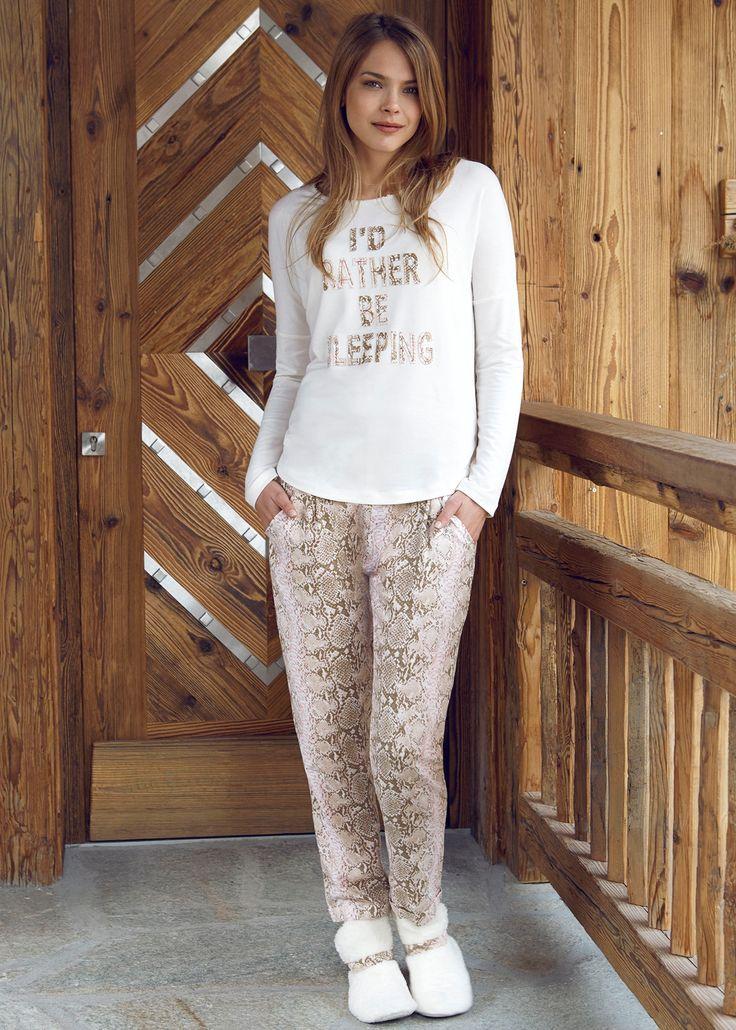 Penye Mood 7832 Bayan Pijama Takım   Mark-ha.com