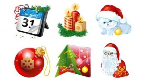 Где взять графику для Нового года и Рождества: лучшие из лучших!