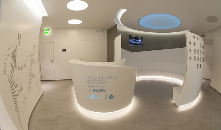 ZONAIR3D presents PURE AIR CONTROL at amazing medical & sport center Omnia Health Solutions - #Madrid