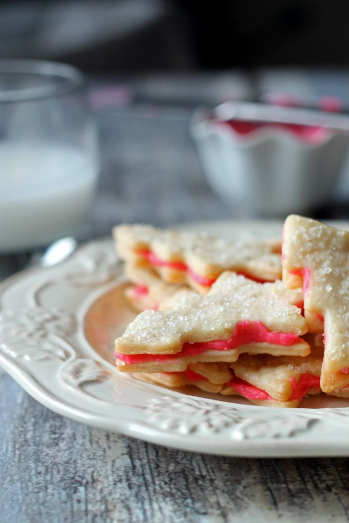 Grandmas Flaky Christmas Sandwich Cookies #christmascookies #sandwichcookies