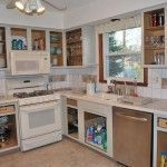Unfinished Kitchen Cabinets Without Doors