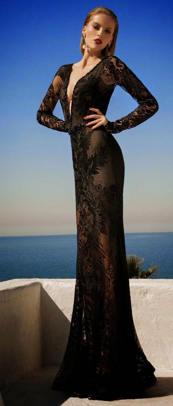 Mis Queridas Fashionistas: Incredible Evening Dresses: MOONSTRUCK, a collection by Galia Lahav