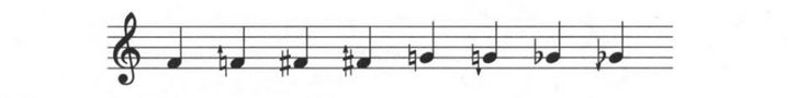 For microtones, add arrows to normal accidentals to indicate the direction of the inflection #booseyfact