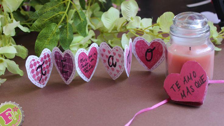 ~El bLoG de fLoRiTeRe~: Tarjeta para San Valentín: Corazón-Acordeón
