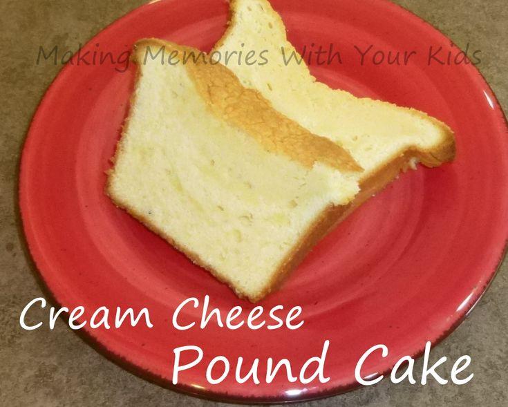cream cheese pound cake | Desserts | Pinterest | Cream ...