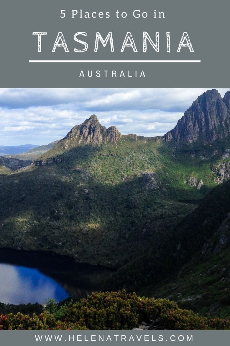 5 places to visit in Tasmania that you should definitely add to your Tassie itinerary.