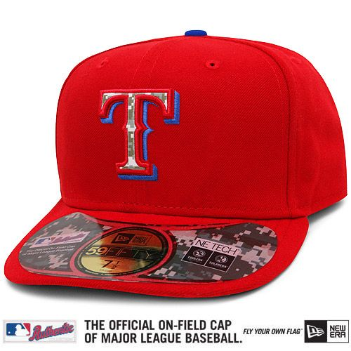 texas rangers red baseball cap stadium capacity baylor authentic stars stripes alternate performance on field