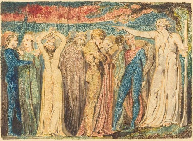 William Blake, Joseph of Arimathea Preaching to the Britons (1794-1796)