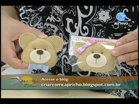 Manhã Viva - Artesanato: Chaveiro de ursinho - YouTube