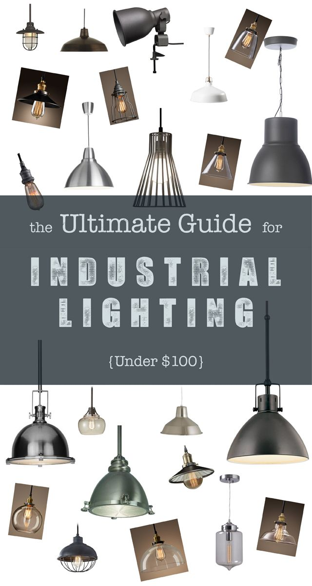 The Ultimate Guide for Industrial Lighting Under $100